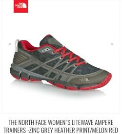 North Face Women's Liteweight Ampere Trainers- Size 3