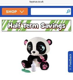 Yoyo interactive panda toy