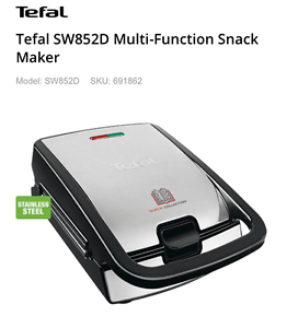 Tefal  Multi-Function Snack Maker Bulimba Brisbane South East Preview