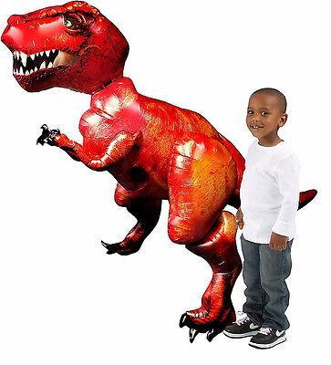 Tyrannosaurus T Rex Airwalker Balloon DINOSAUR Birthday Party Supplies AWK Decor - Dinosaur Birthday Party Supplies