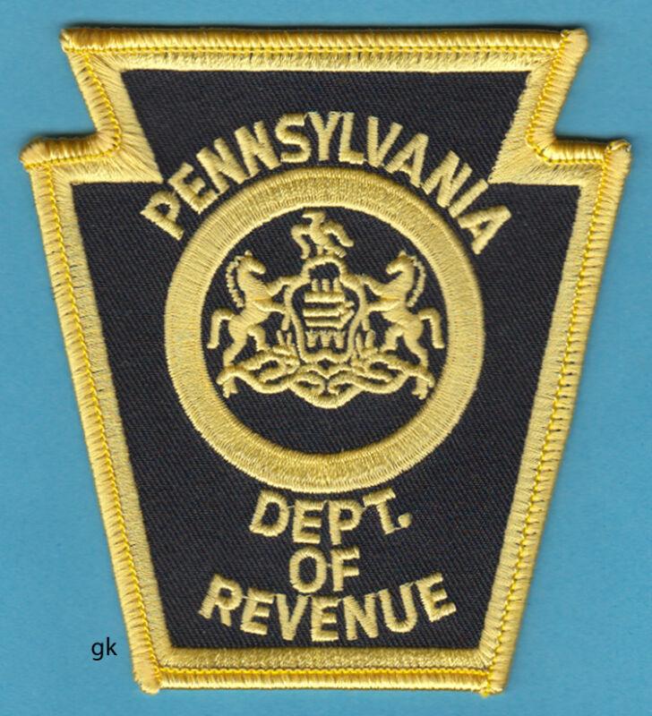 PENNSYLVANIA DEPARTMENT OF REVENUE POLICE SHOULDER PATCH