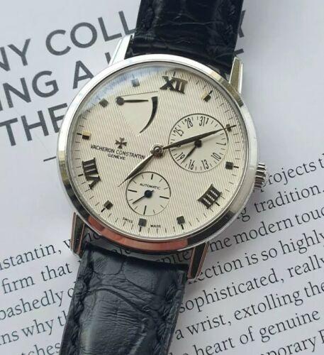 Vacheron Constantin Patrimony Power Reserve White Gold Watch - watch picture 1