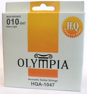 Olympia high quality platinum acoustic guitar strings