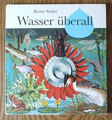 Wasser überall – Alfred Könner & Rainer Sacher  DDR Bilderbuch Kinderbuch mit In