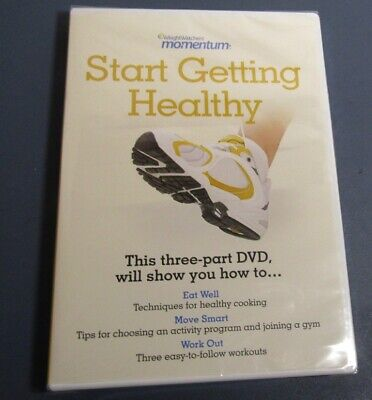 Weight Watchers Momentum Start Getting Healthy  DVD, 2009) New Sealed, used for sale  Montague