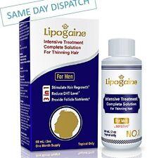 LIPOGAINE FOR MEN SENSITIVE TREATMENT HAIR LOSS REGROWTH ANTI DHT SCALP SOLUTION