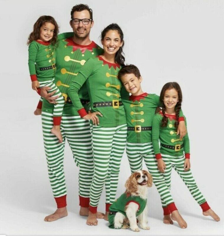 Target Wonderland Family Christmas Elves 4 PJ Set