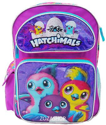 Hatchimals Large Backpack 16  Hatching Egg Backpack Girl  New