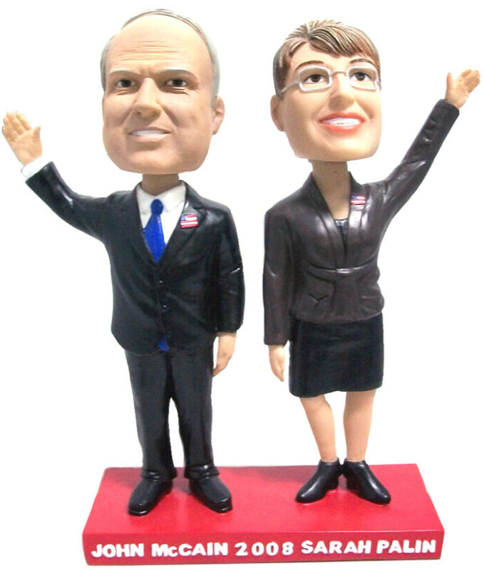 McCain Palin Limited Edition Numbered Bobblehead