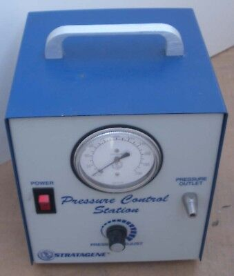 Stratagene Pressure Control In Good Working Condition