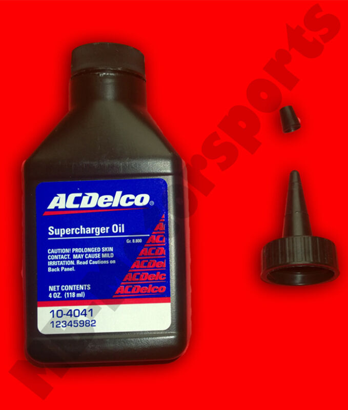 ACDelco Supercharger Oil Eaton Compressor Oil M45 M62 M65 GM Mercedes SLK R170