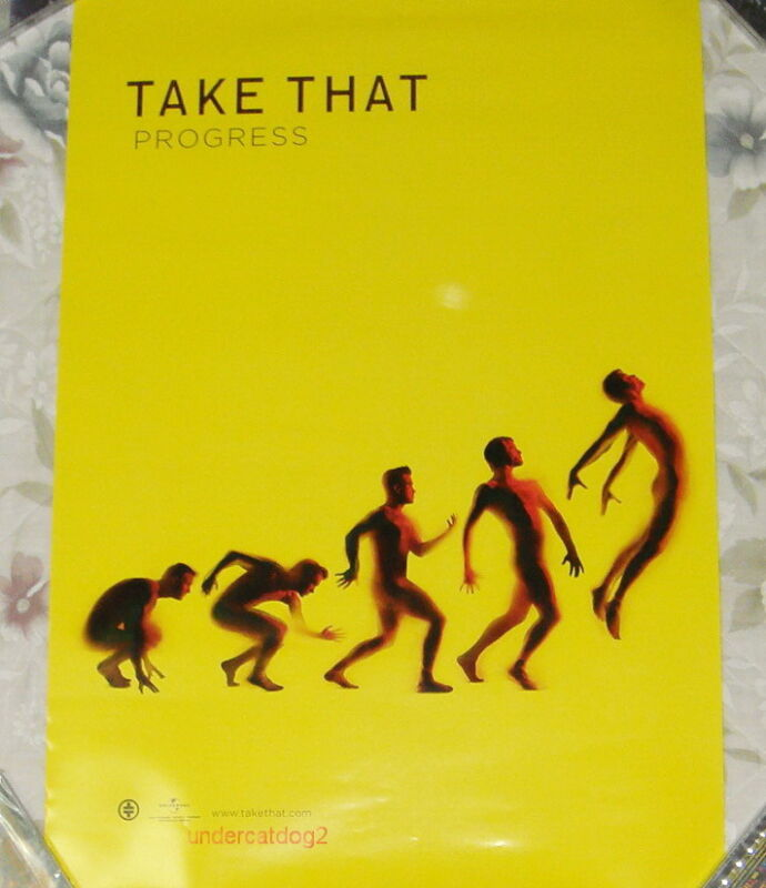 Take That Progress 2010 Taiwan Promo Poster