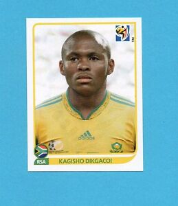 SOUTH-SUD-AFRICA-2010-PANINI-Figurina-n-40-DIKGACOI-SOUTH-AFRICA-NEW-BLACK-BACK