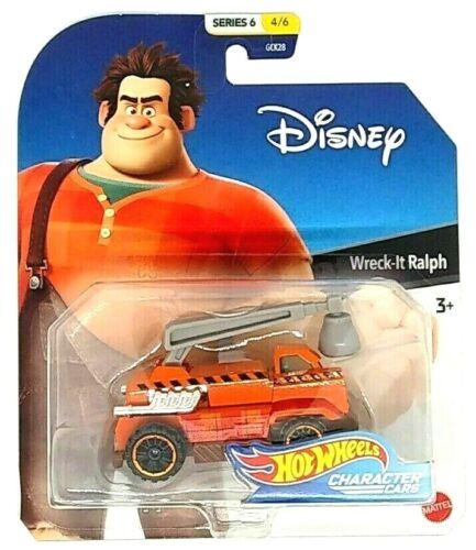 Hot Wheels Disney Character Cars WRECK-IT-RALPH Series 7 **Misprint**