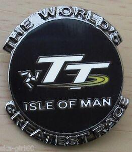 Isle of Man (IOM) TT Motorcycle Road Race Hard Enamel/MOTOR BIKE/PIN BADGE/GIFT