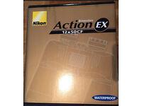 Nikon waterproof binoculars 12x50 action EX