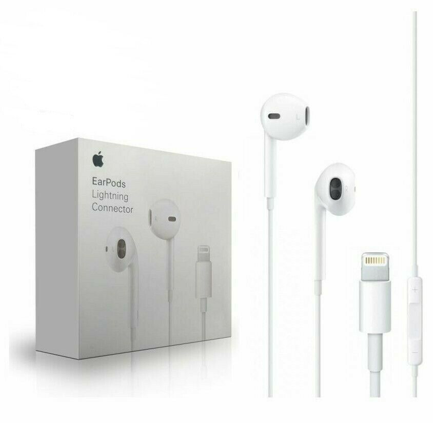 Apple Lightning EarPods Earbuds Headset Original For iPhone