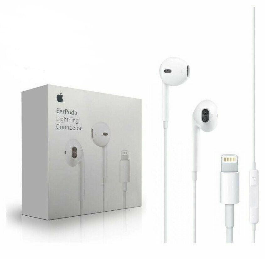 Apple Lightning EarPods Earbuds Headset Original For iPhone