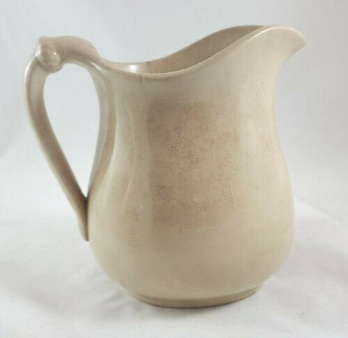 ANTIQUE ROYAL IRONSTONE CHINA WARRANTED PITCHER