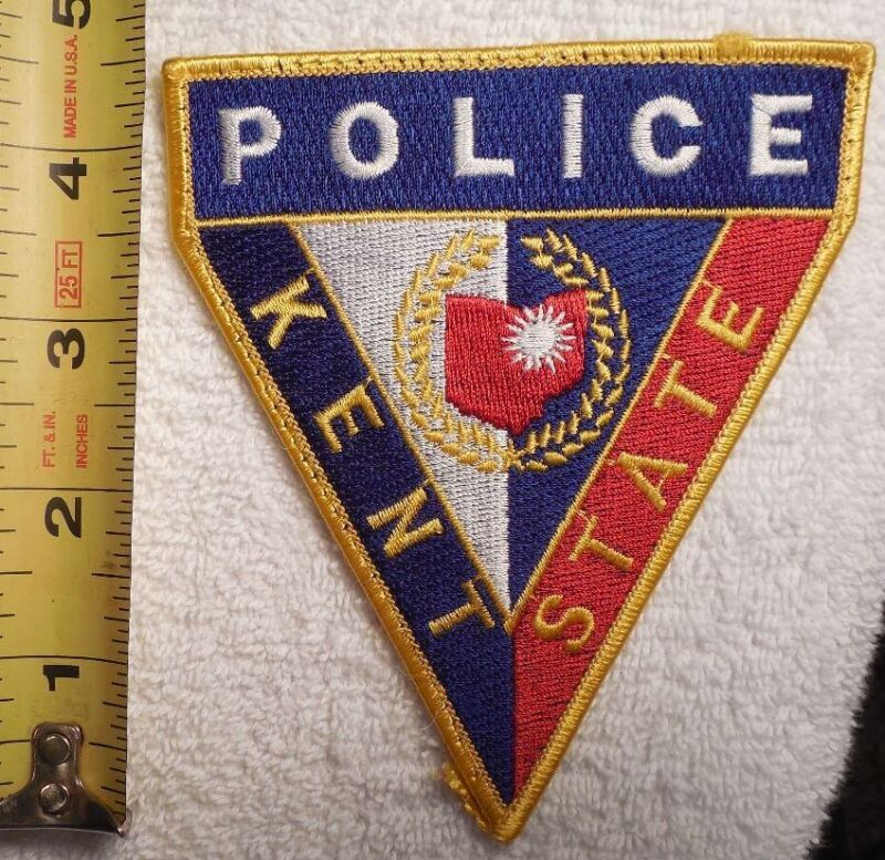 KENT STATE OHIO POLICE PATCH (HIGHWAY PATROL, SHERIFF, EMS, STATE)