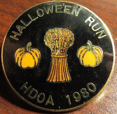 Halloween Motorcycle Run (1980 Harley-Davidson Owners Association HDOA Motorcycle Club Halloween Run)