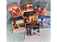 THE VESPASIAN SERIES by ROBERT FABBRI, 7 Books, Paperback , Good condition