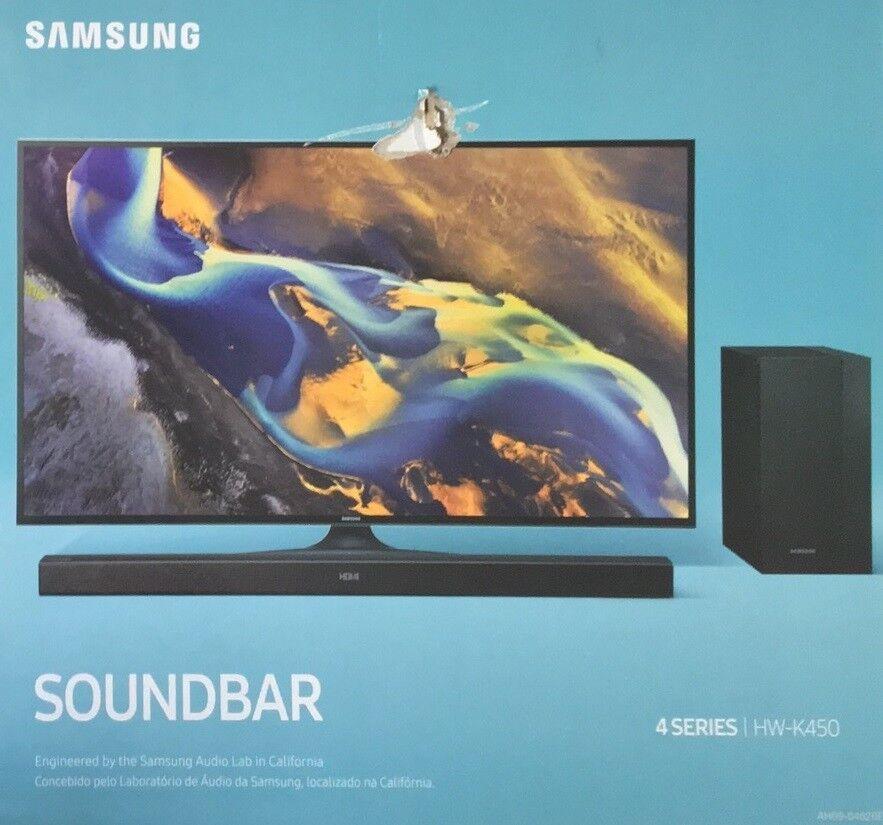 samsung hw k450 en soundbar flat bluetooth sw h ndler rechnung d29805 ebay. Black Bedroom Furniture Sets. Home Design Ideas