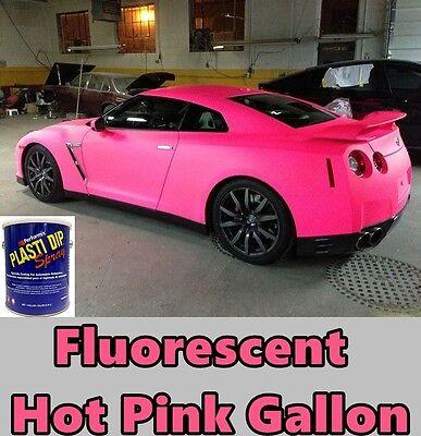 Plasti Dip Fluorescent Hot Pink Gallon Performix Ready To Spray Sprayable