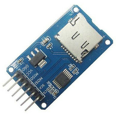 Micro Sd Card Sdhc Mini Tf Card Reader Module Spi Interfaces For Arduino