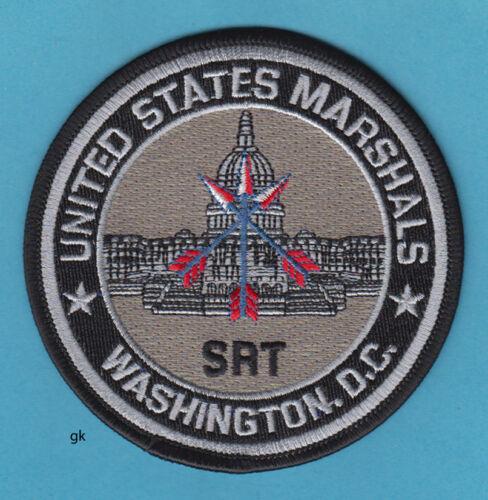 US MARSHALS SRT  WASHINGTON DC  POLICE SHOULDER PATCH