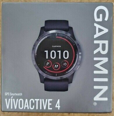 Garmin vivoactive 4 Shadow Black GPS Smartwatch