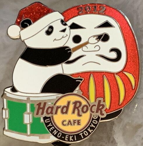 Hard Rock Cafe U-E TOKYO 2012 Holiday Season PANDA Painting Mask PIN HRC #69372