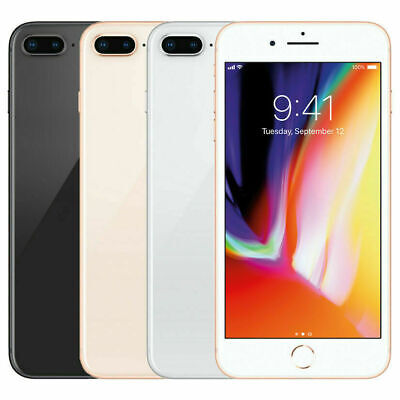 Apple iPhone 8 Plus 64GB Unlocked Smartphone Mobile Warranty iOS -All Colours UK
