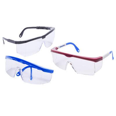 Radians Shark Safety Glass Colored Frame Clear (Coloured Lens Glasses)