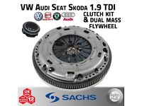 SACHS Clutch & Dual Mass Flywheel Kit - VW Audi Seat Skoda BKC BXE BLS CAYB CAYC - 1.9 TDi Golf Leon