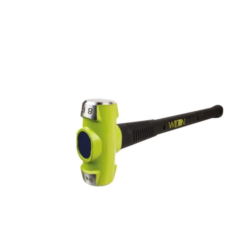"""Wilton 40824 8 Lb Head, 24"""" B.a.s.h Sledge Hammer (30hrc)"""