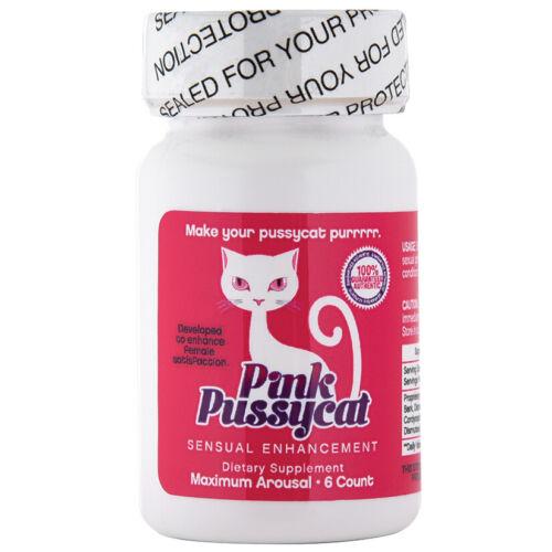 Pink Pussycat-6 Count Bottle