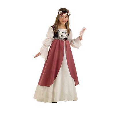 Clarissa Mittelalter Maid Kinderkostüm Burgfräulein Mädchen Kleid