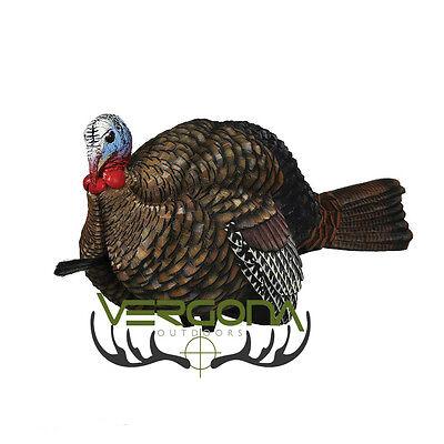 New 2017 Zink Avian X LCD 1/2 Half Strut Jake Turkey Decoy 8012