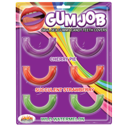 1 GUM JOB oral sex gummy candy teeth covers