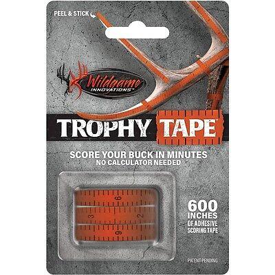 "New Wildgame Innovations Trophy Tape Rack Scoring (3) 200"" Rolls"