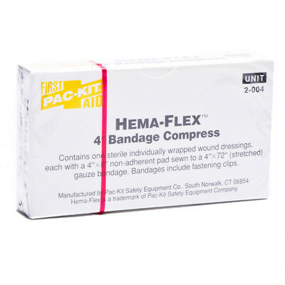 4 Compress Bandage (Unitized Bandage Compress Dressing)