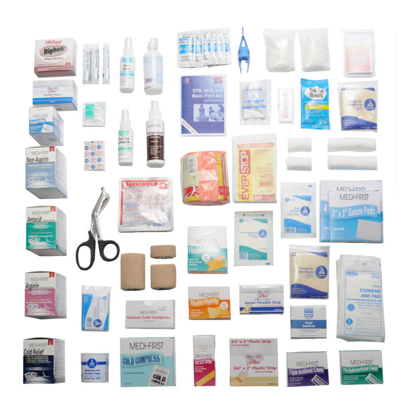 Kit Refill Complete 4 Shelf With Medications