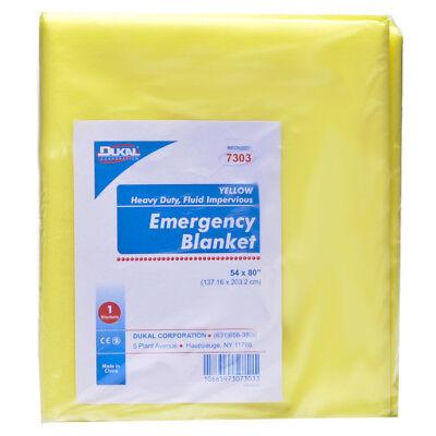 - Disposable Economy Emergency Blanket Yellow