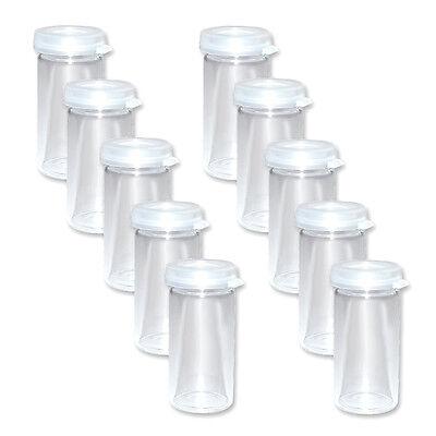 ser 5ml Gewürzgläser Gläser mit Deckel Probenglas Minigläser (Mini-gläser Mit Deckel)