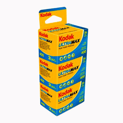 KODAK ULTRA 400 36exp 3 PACK
