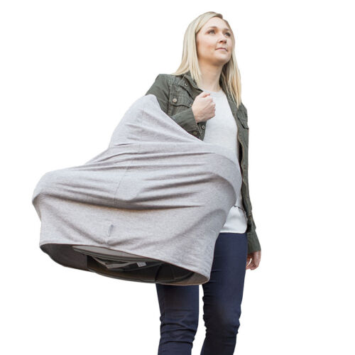 Nuroo - Multi-Use Cover, 360 Degrees Full Coverage. Color: Heather Gray. - NEW!