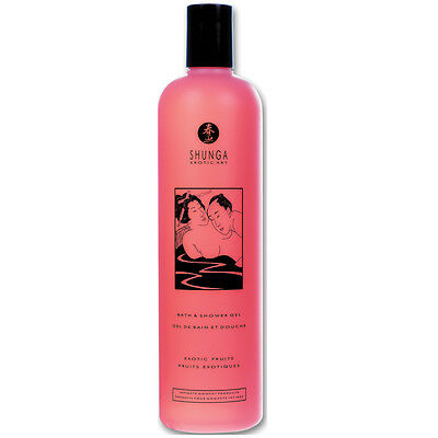 Shunga Bath & Shower Gel-Exotic Fruits 16oz