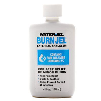 Water Jel Burn Gel  4 Oz Liquid Bottle