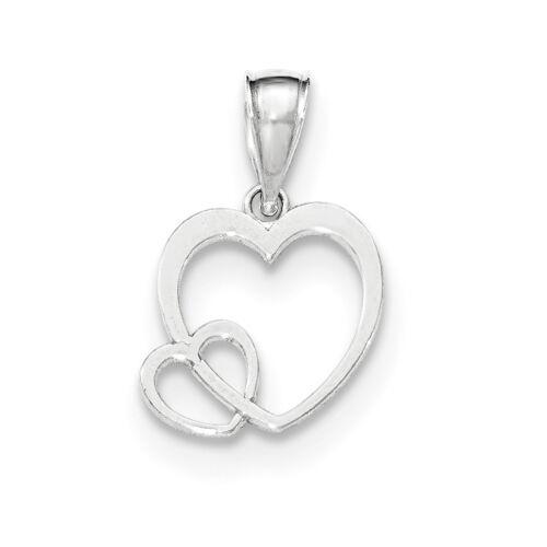 """925 Argent Sterling poli Diamond-Cut petit nombre/"""" 24/' Charme Pendentif"""